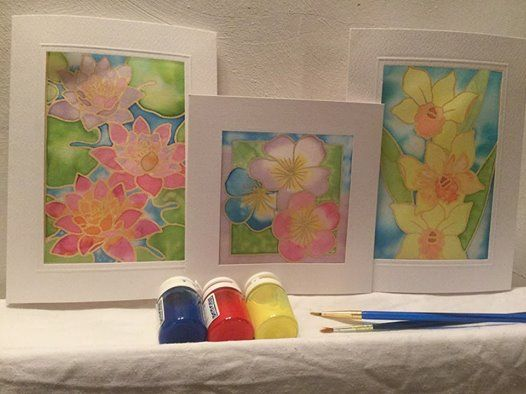 Introduction to Silk Painting with Deborah Woodland