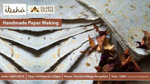 Handmade Paper Making Workshop