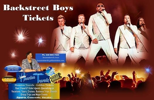 Backstreet Boys Tickets [Zappos Theater at Planet Hollywood]