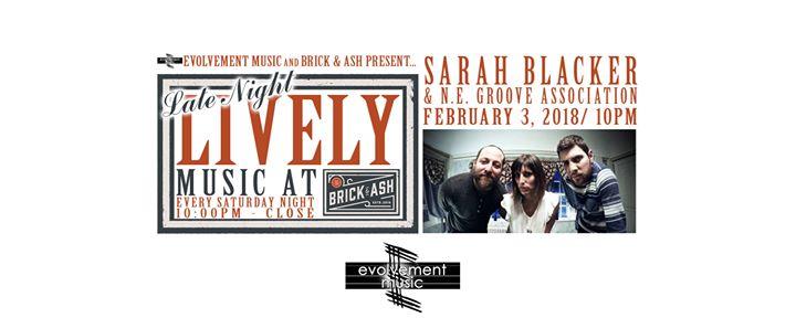 2.3.18 Sarah Blacker and NE Groove - B&A - Newburyport MA