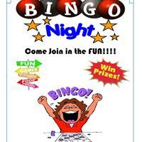 Bingo Night at the Garfield