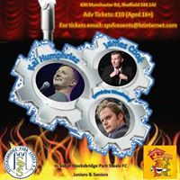 Steel Valley comedy night for Stocksbridge Park Steels