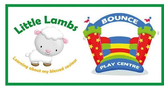 Little Lambs at Bounce  The Real Easter.