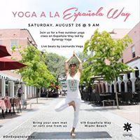 Yoga a la Espaola Way with Synergy Yoga
