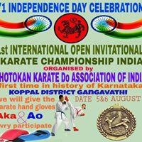 International tournament at Gangavathi