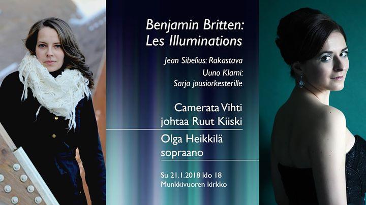 Benjamin Britten Les Illuminations