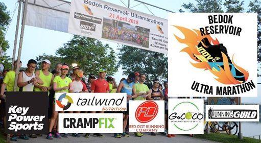 Bedok Reservoir Ultramarathon 13 Apr 2019