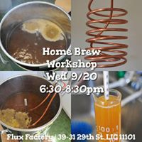 Home Brew Workshop with Fluxers