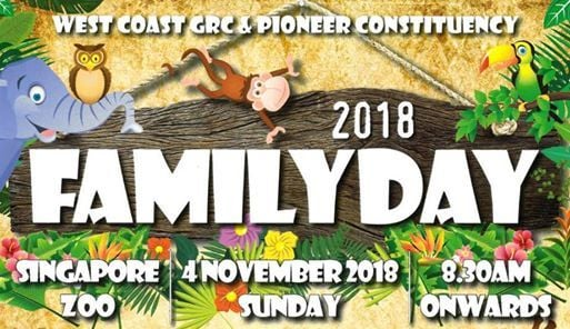 2018 West Coast GRC & Pioneer Constituency Family Day
