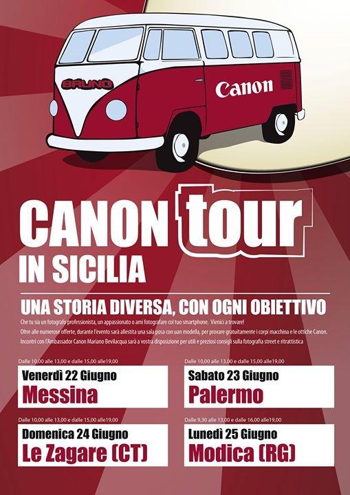 Canon Tour Messina