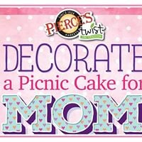 Decorate a Cake for Mom