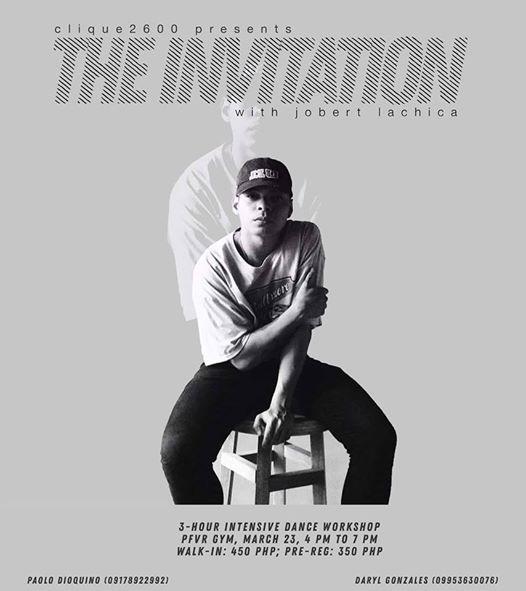 The invitation (Jobert Lachica)