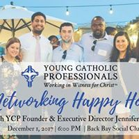 Young Catholic Profesionals (YCP) Boston Happy Hour