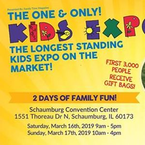 2019 Kids Expo Schaumburg! at Renaissance Schaumburg Convention