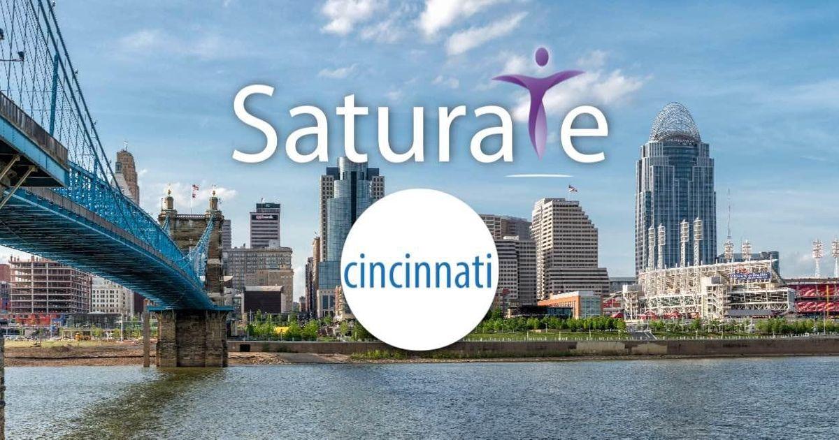 Saturate Cincinnati Kickoff
