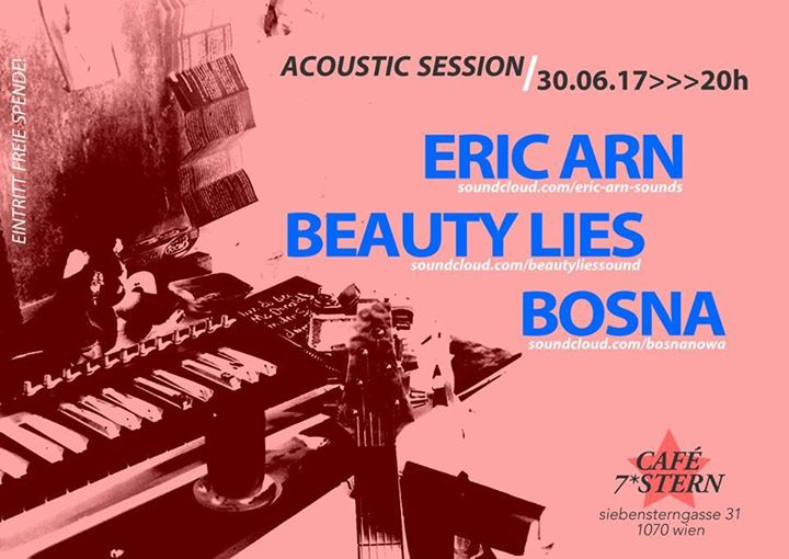 Eric Arn Beauty Lies Bosna 7 Wohnzimmerkonzert At