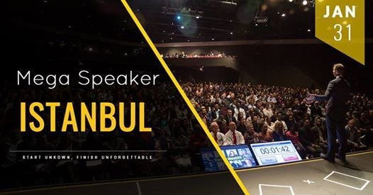Mega Speaker Istanbul