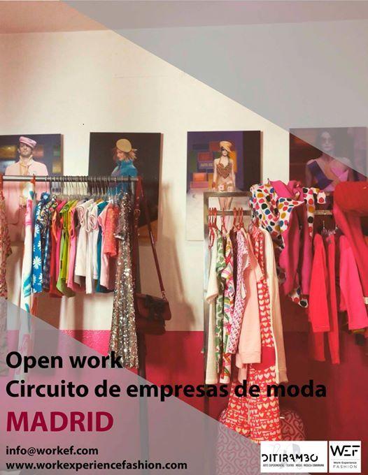 Circuito Open Work Madrid