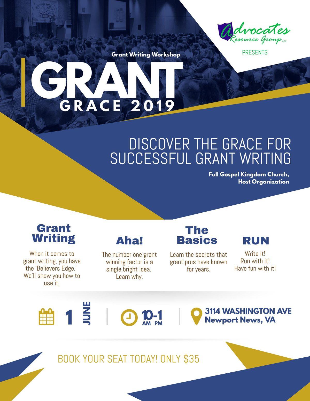 Grant Grace 2019 (Grant Writing Workshop) at Full Gospel