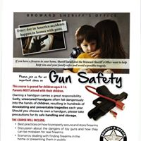 Gun Safety Class for Kids (and parents)