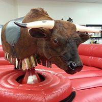Mechanical Bull Riding Contest