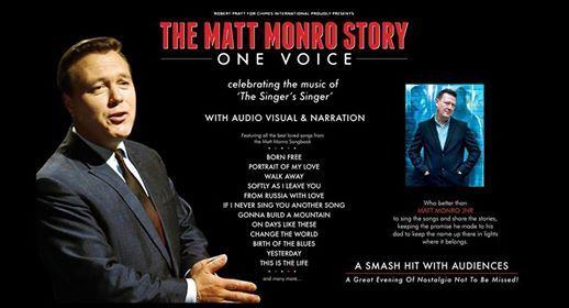 The Matt Monro Story - One Voice - Final Tour