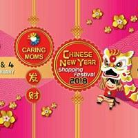 CARING MOMS CNY Shopping Festival - 2018