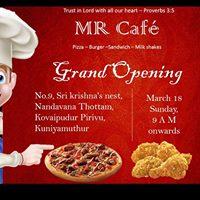 MR CAFE Opening Ceremony