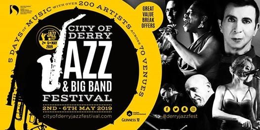 Jazz Dance Classes at the City of Derry Jazz & Big Band Festival