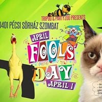 Tripod &amp Partyzoo APRIL FOOLS DAY  Bolondok Napja 0401szo
