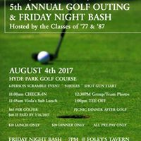 5th Annual LaSalle HS Alumni Golf OutingFriday Night Bash