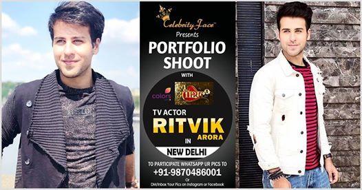 Photoshoot with Ritvik Arora in Delhi at Celebrity Face