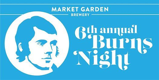 6th Annual Burns Night at Market Garden Brewery