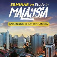 Seminar on &quotStudy in Malaysia&quot at Ahmedabad