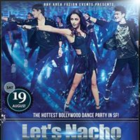 1 DAYS AWAY Lets Nacho The Hottest Bollywood Dance Party in SF