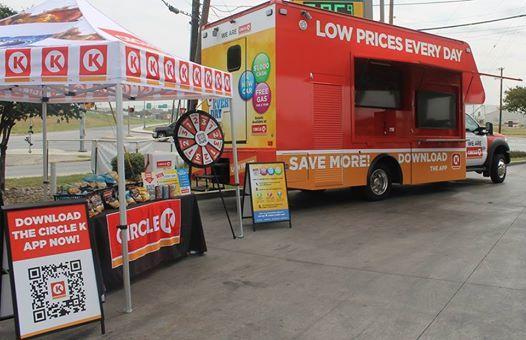 Spot the Circle K Truck! at 3324 East Nasa Parkway, Seabrook
