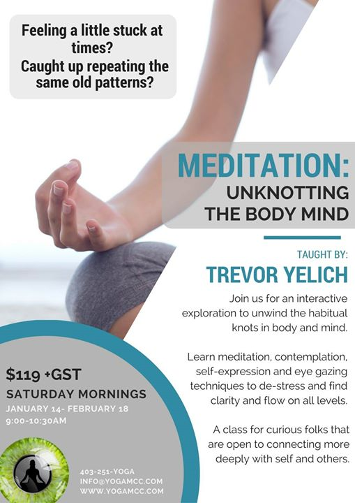 Meditation Unknotting the Body Mind