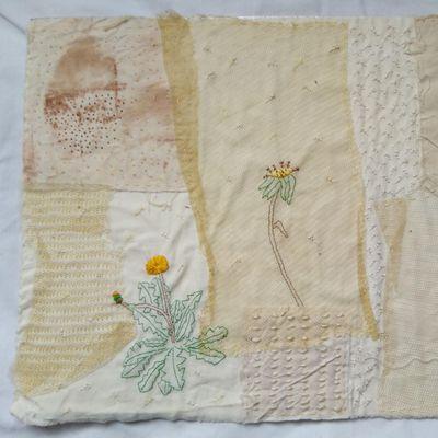 Patchwork of Fabrics Textile Workshop