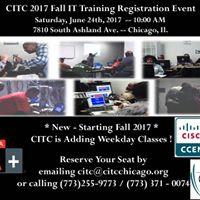 Fall Information Technology (IT) Training Registration