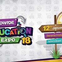 Worldwide Education Expo 2018 in Islamabad
