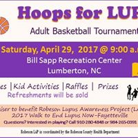 Hoops for LUPUS-Adult Basketball Tournament