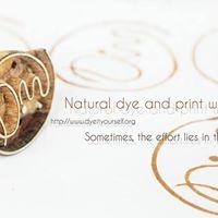 Natural Dye and Print Workshop
