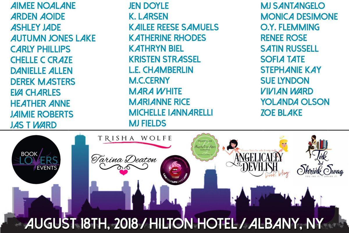 Book Lovers Events Albany NY