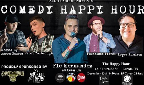 COMEDY HAPPY HOUR (End of the year show)