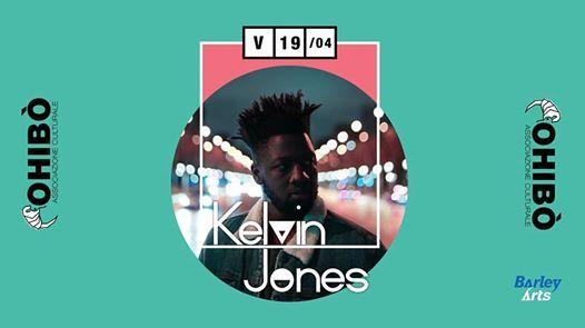 Kelvin Jones in concerto allOhib