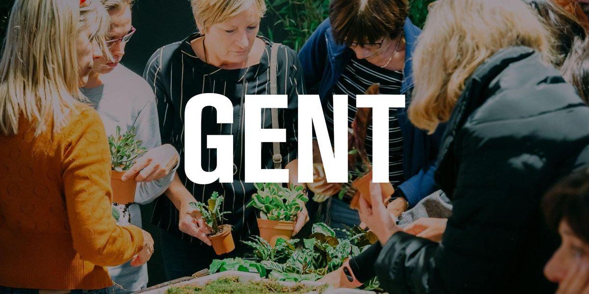 Kokedama workshop te Gent 16.30u - 17.30u