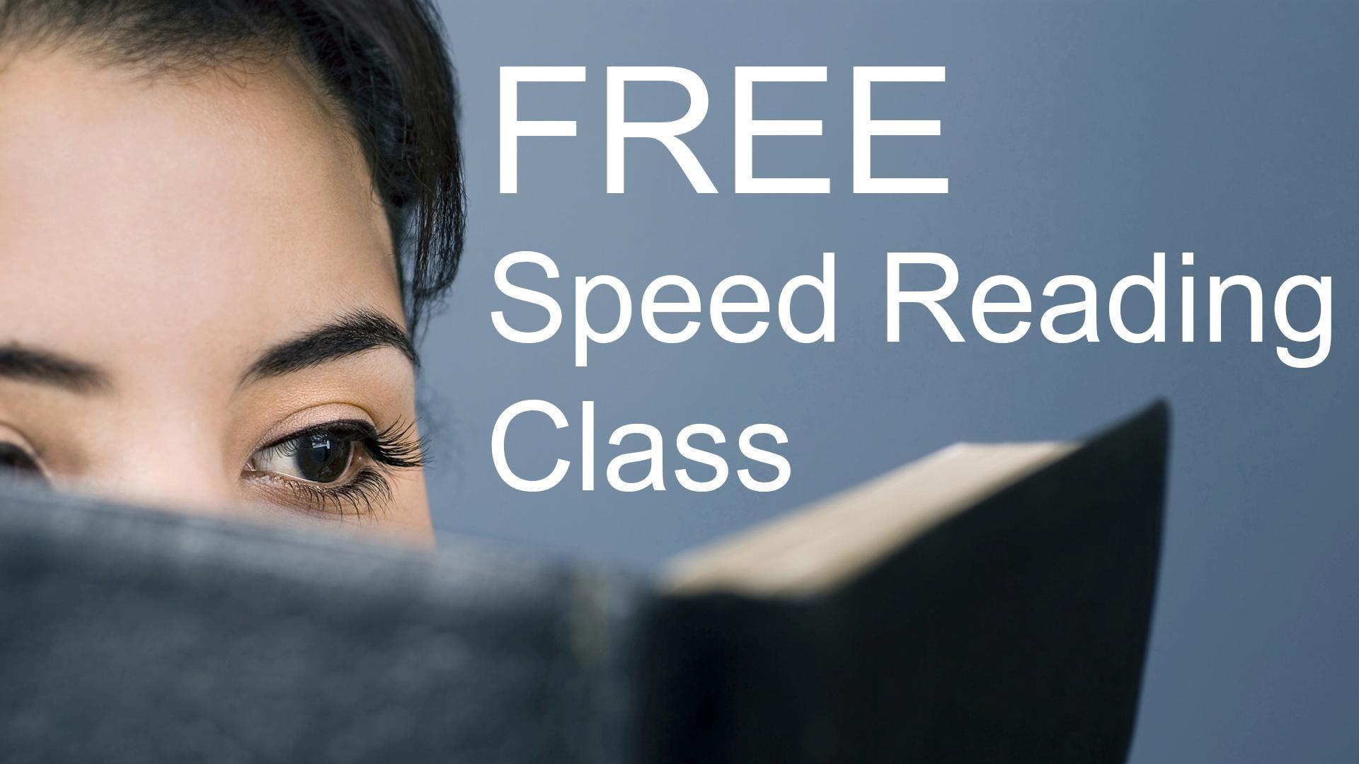 Free Speed Reading Class - San Antonio