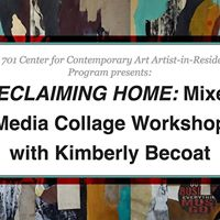 Reclaiming Home Mixed Media Collage Workshop