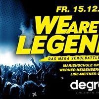 We Are Legends - das mega Schulbattle  Marienschule Opladen