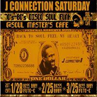 Disco J Connection SaturdaySoul Masters Cafe